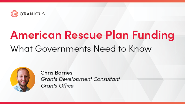 American Rescue Plan Funding: What Governments Need to Know