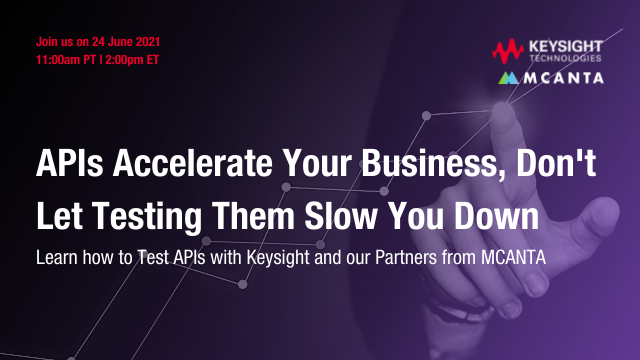 APIs accelerate your business – Don't let testing them slow you down.