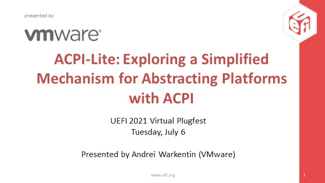 ACPI-Lite: Exploring a Simplified Mechanism for Abstracting Platforms with ACPI