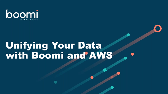 Unify Your Data with Boomi and AWS