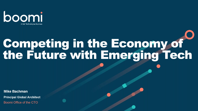 Competing in the economy of the future: How to harness emerging technologies