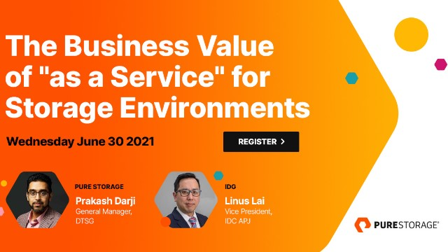 """Unlock the Business Value of """"as-a-service"""" Models in Data Storage"""