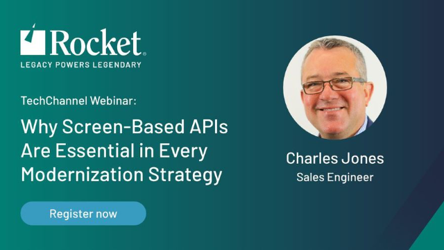 Why Screen Based API's are Essential in Every Modernization Strategy