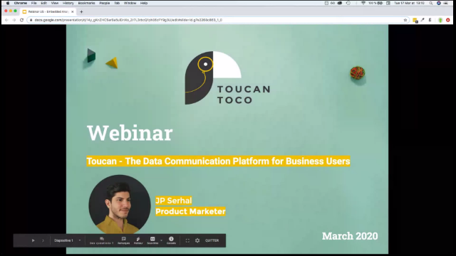 The Data Communication Platform for Business Users