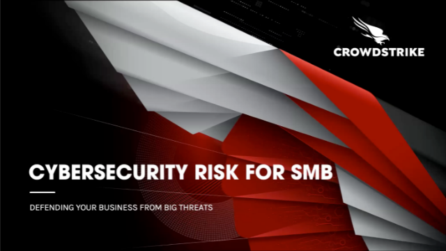 Cybersecurity Risk for SMB - Defending Your Business From Big Threats [EMEA]