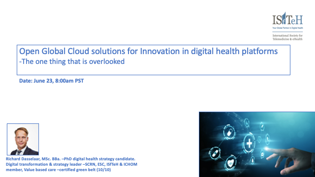 Open Global Cloud solutions for Innovation in digital health platforms