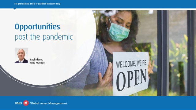 Opportunities post the pandemic