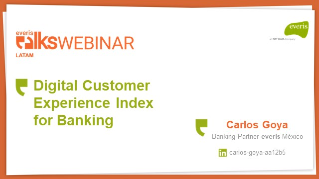 Digital customer experience for banking