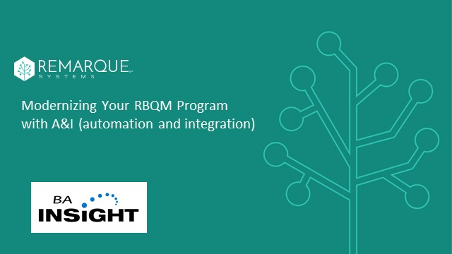 Modernizing Your RBQM Program with Automation and Integration