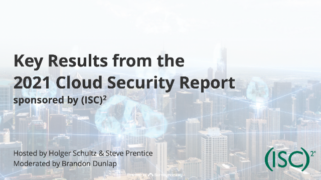 Key Insights from the 2021 Cloud Security Report