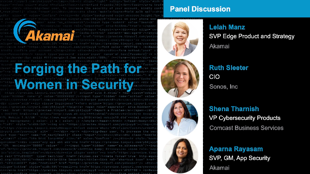 Forging the Path for Women in Security