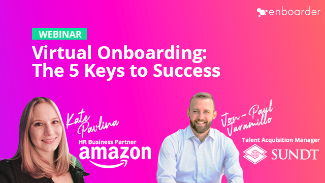Virtual Onboarding: The 5 Keys to Success