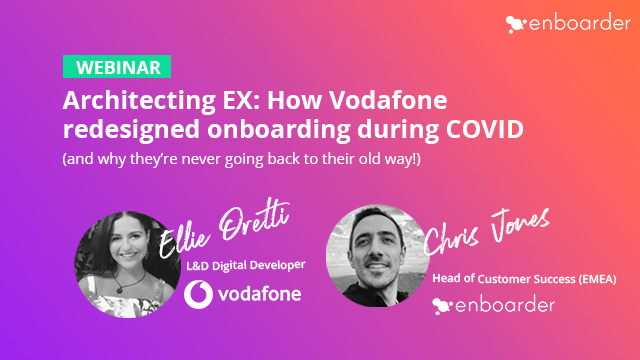 Architecting EX: How Vodafone Redesigned Onboarding During COVID