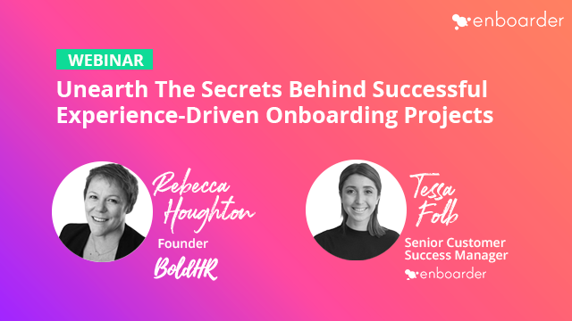Unearth the Secrets Behind Successful Experience-Driven Onboarding Projects