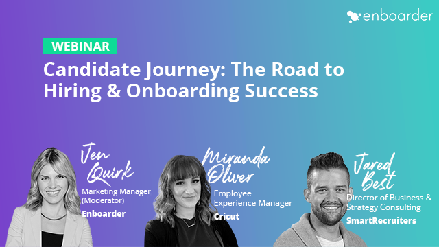 Candidate Journey: The Road to Hiring & Onboarding Success