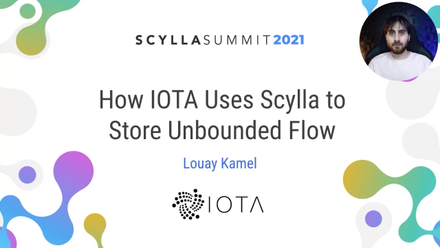 How IOTA Foundation Uses Scylla to Store Unbounded Flow