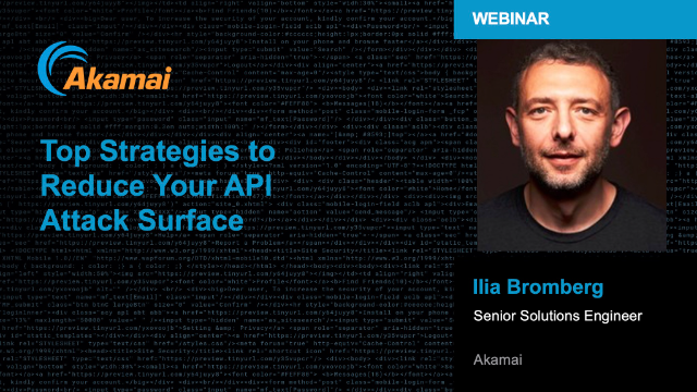 Top Strategies to Reduce Your API Attack Surface