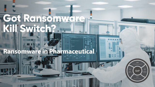 Ransomware in Pharmaceutical