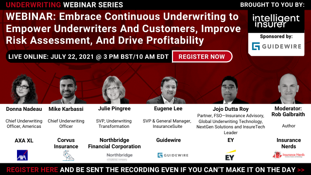 Embrace Continuous Underwriting to Empower Underwriters And Customers