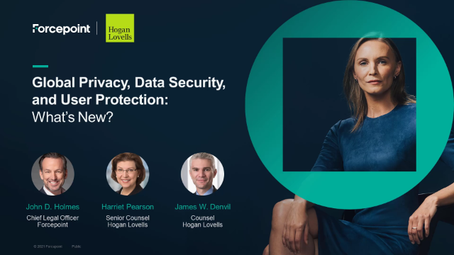 Global Privacy, Data Security, and User Protection: What's New?