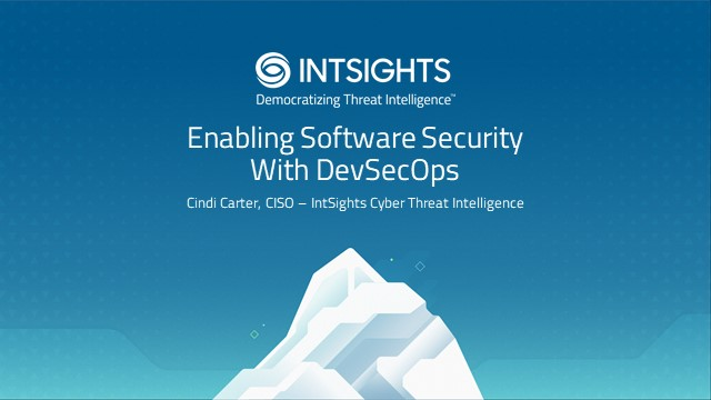 Enabling Software Security With DevSecOps