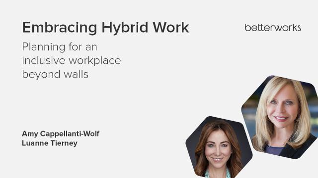 Embracing Hybrid Work - Planning for an inclusive workplace beyond walls