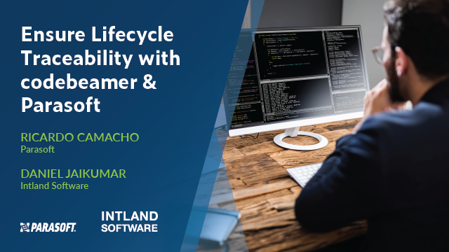 Ensure Lifecycle Traceability With codebeamer & Parasoft