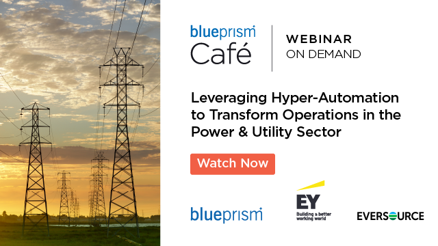 Leveraging Hyper-Automation to Transform Operations in Power & Utilities Sector