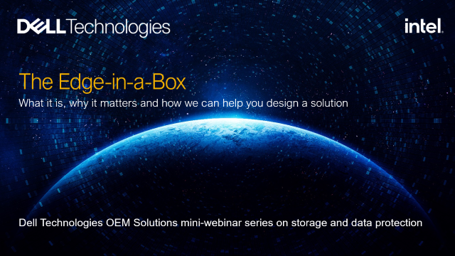 OEM Solutions: The Edge-in-a-Box concept