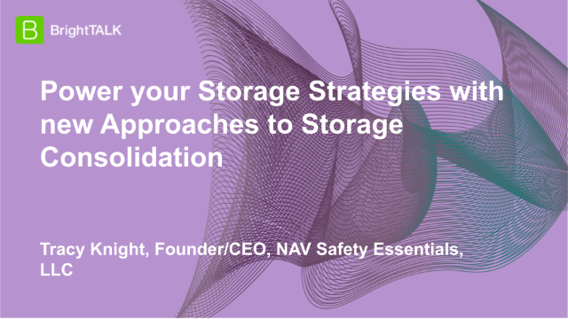 Power your Storage Strategies with new Approaches to Storage Consolidation