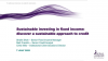 Sustainable investing in fixed income: discover a sustainable approach to credit