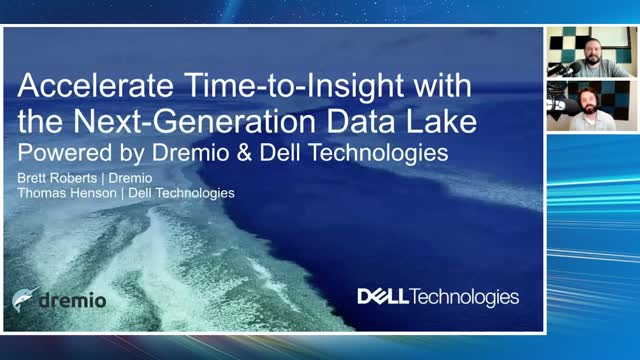 Accelerate Time-to-Insight with the Next-Generation Data Lake Powered by Dremio