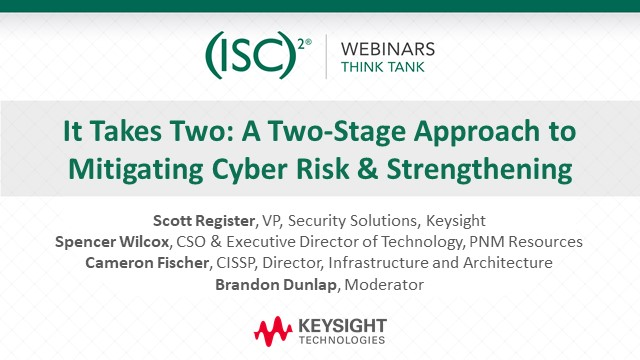 It Takes Two: A Two-Stage Approach to Mitigating Cyber Risk & Strengthening