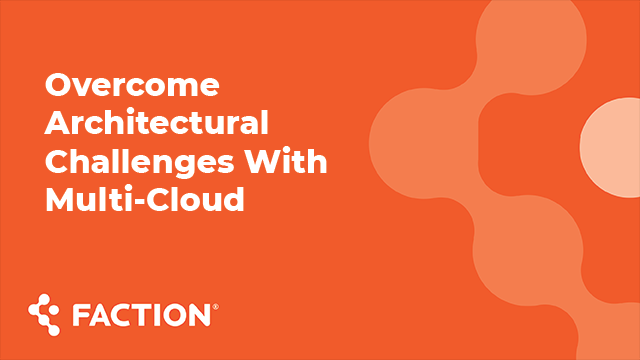 TDWI Virtual Summit - Overcome Architectural Challenges With Multi-Cloud