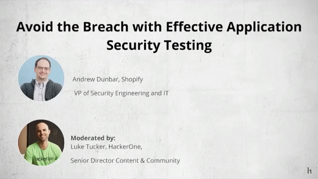 Avoid the Breach with Effective Application Security Testing