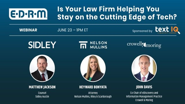 Is Your Law Firm Helping You Stay on the Cutting Edge of Tech?
