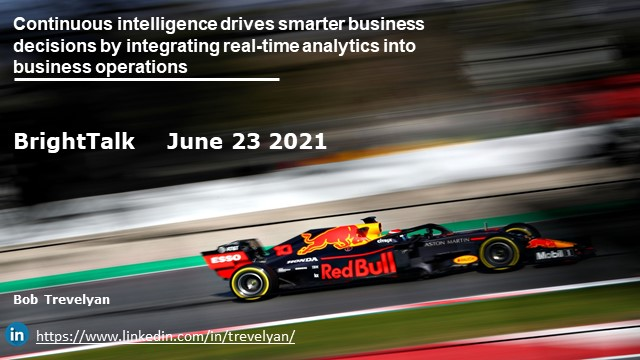 Continuous Intelligence Drives Smarter Business Decisions by Integrating RTA