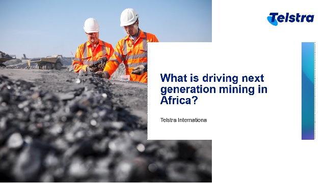 What is driving next generation mining in Africa?