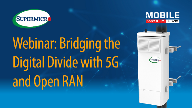 Bridging the Digital Divide with 5G and Open RAN