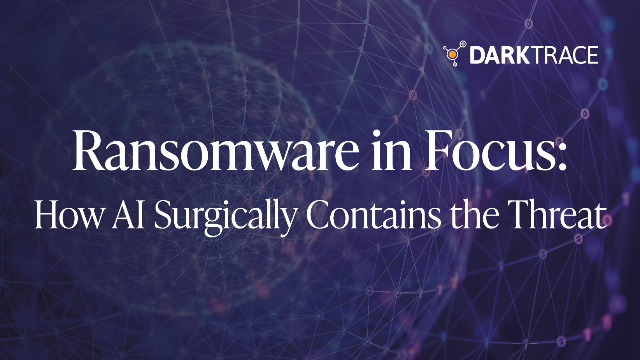 Ransomware in Focus: How AI Surgically Contains the Threat