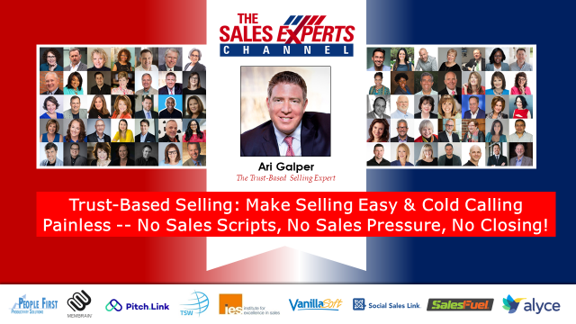 Make Selling Easy & Cold Calling Painless -- No Sales Scripts, No Sales Pressure