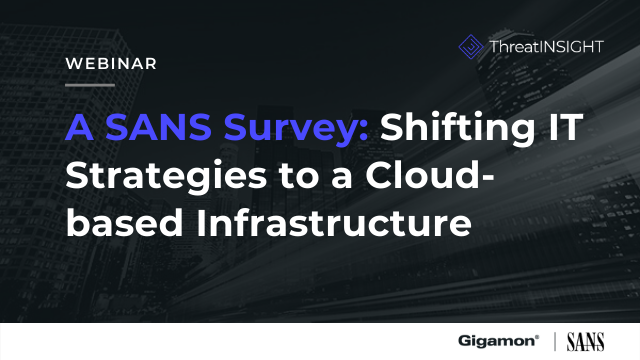 Shifting IT Strategies to a Cloud-based Infrastructure
