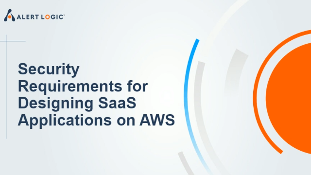 Security Requirements for Designing SaaS Applications on AWS