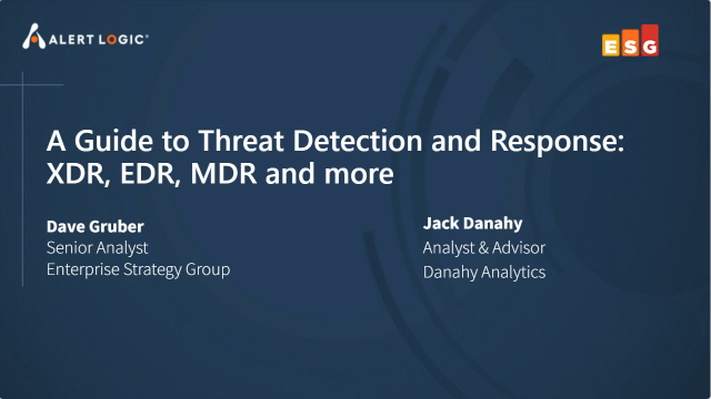 A Guide to Threat Detection and Response