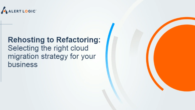 Cloud Security: Rehosting to Refactoring Migration Strategies