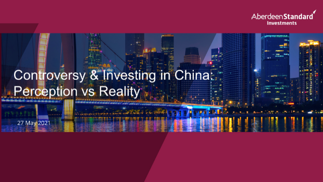 Controversy and Investing In China- Perception vs. Reality Virtual Event