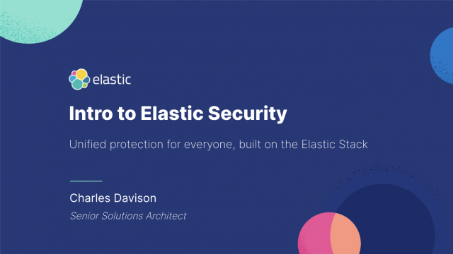 How to shrink MTTR with Elastic Security
