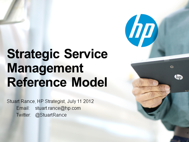 Strategic Service Management Reference Model