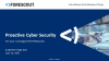 Proactive Cyber Security for Converged IT/OT Networks