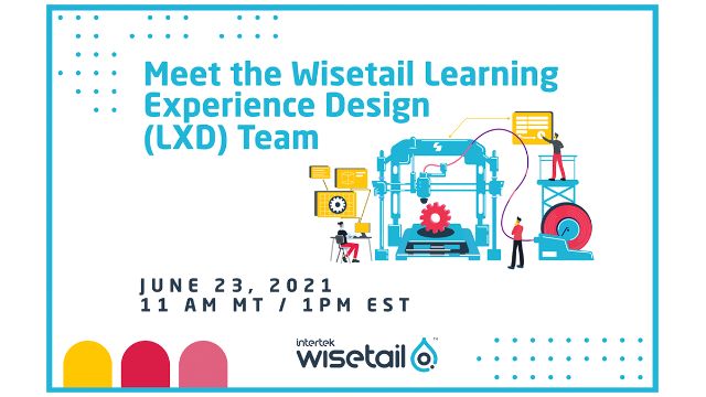 Meet the Wisetail Learning Experience Design (LXD) team!